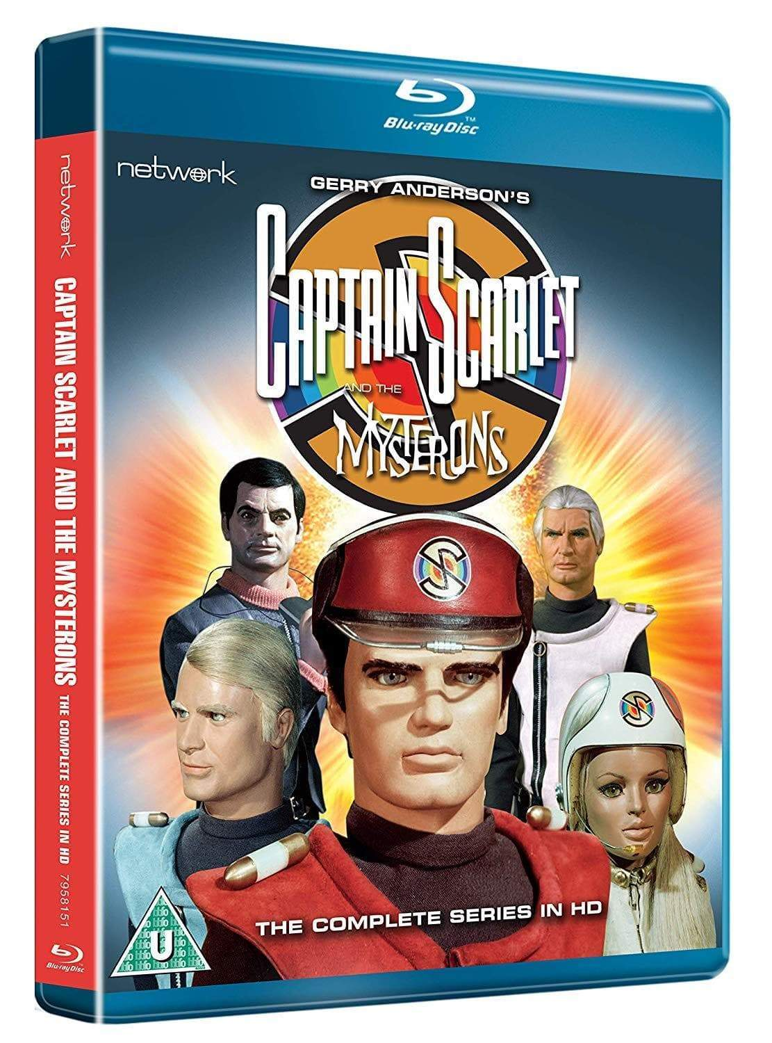Captain Scarlet and the Mysterons: The Complete Series [BLU-RAY](Region B) - The Gerry Anderson Store