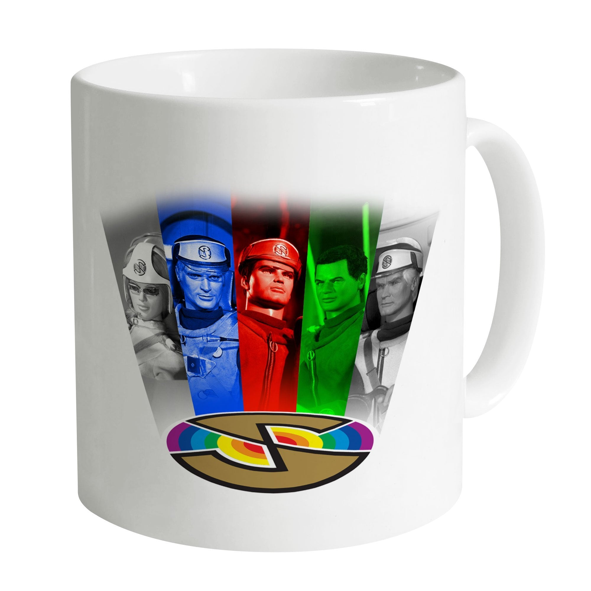 Captain Scarlet Cast Mug [Official & Exclusive] - The Gerry Anderson Store