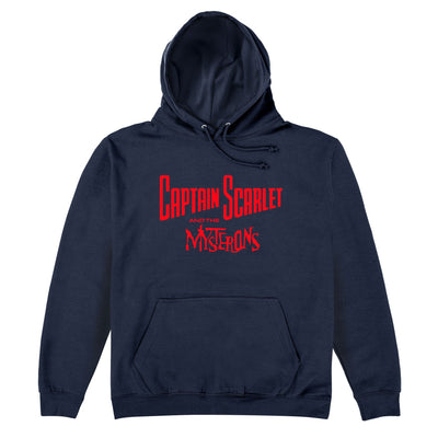Captain Scarlet Classic Red Logo Hoodie [Official & Exclusive] - The Gerry Anderson Store