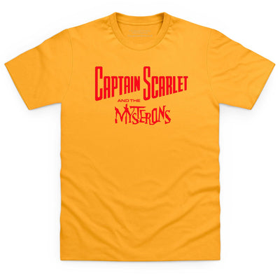 Captain Scarlet Classic Red Logo Men's T-Shirt [Official & Exclusive] - The Gerry Anderson Store