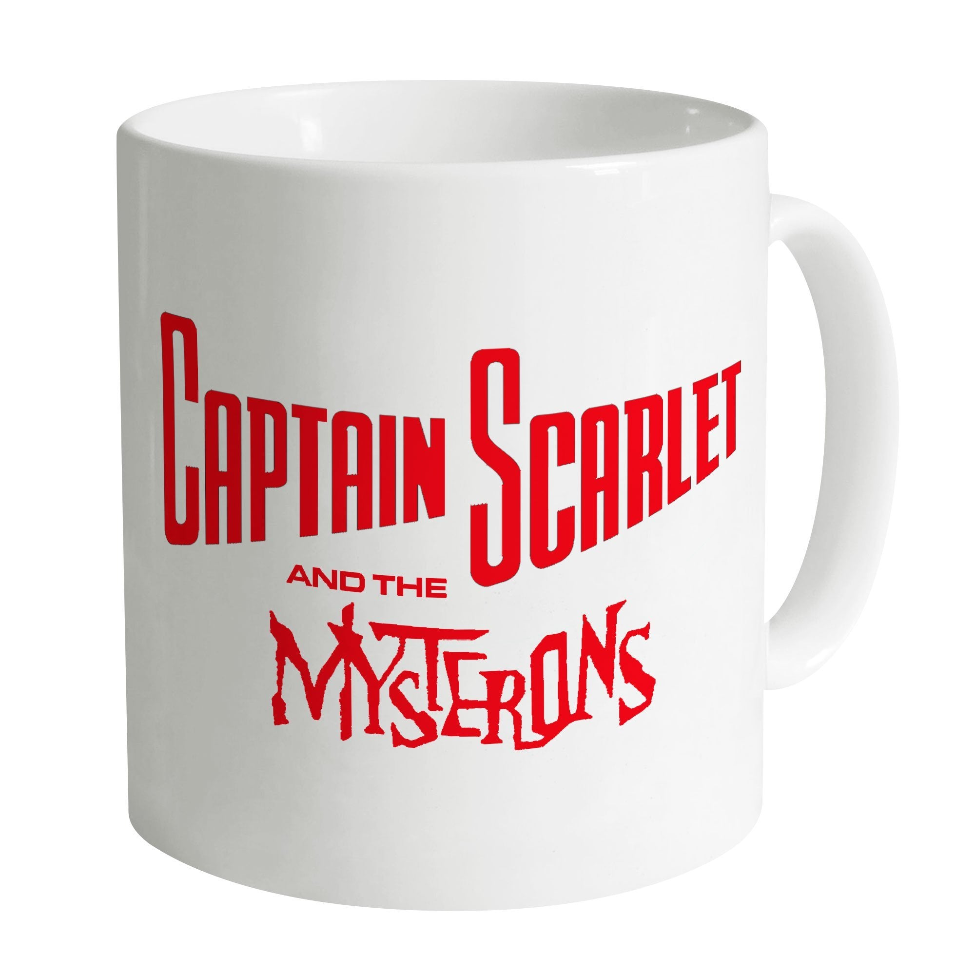 Captain Scarlet Classic Red Logo Mug [Official & Exclusive] - The Gerry Anderson Store