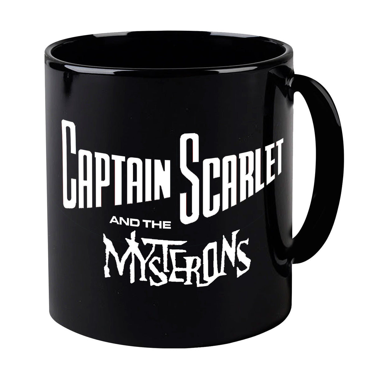 Captain Scarlet Classic White Logo Mug [Official & Exclusive] - The Gerry Anderson Store