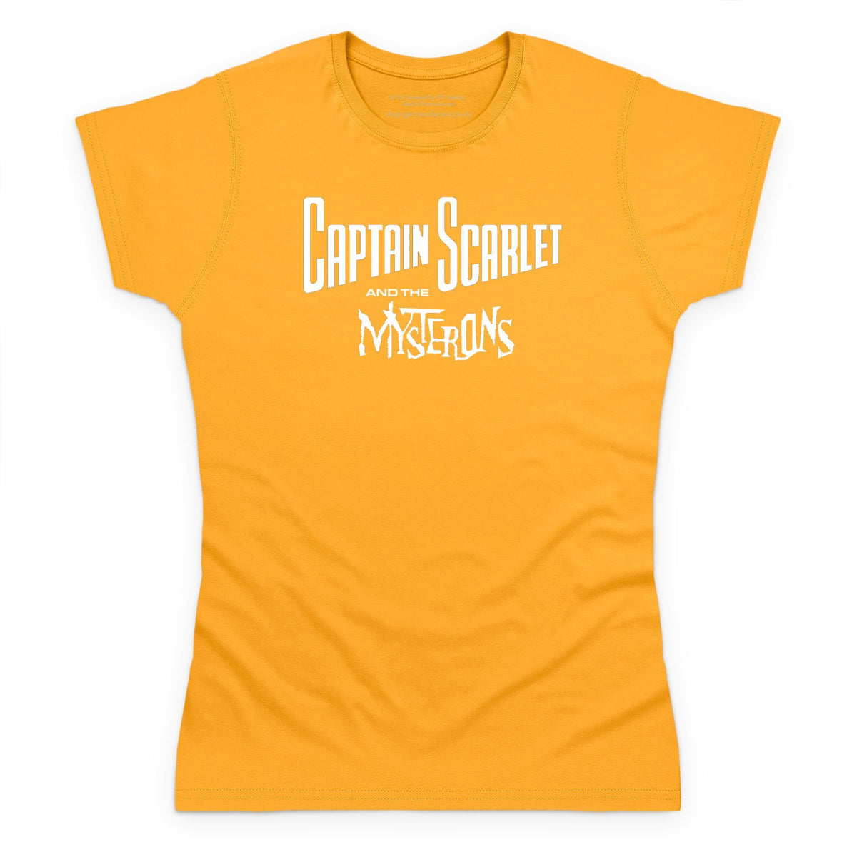 Captain Scarlet Classic White Logo Women's T-Shirt [Official & Exclusive] - The Gerry Anderson Store