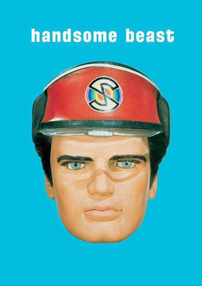 Captain Scarlet Handsome Card - The Gerry Anderson Store