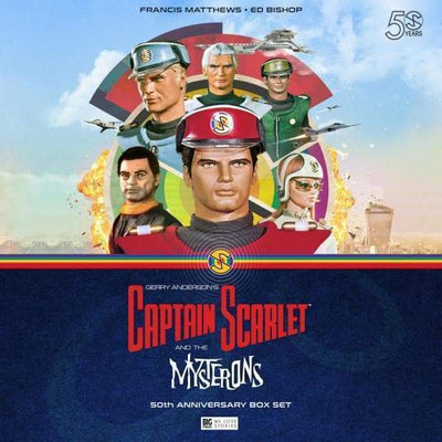 Captain Scarlet is Indestructible [FREE DOWNLOAD] - The Gerry Anderson Store