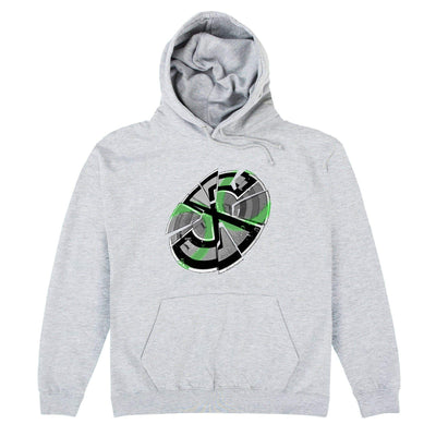 Captain Scarlet Shattered Emblem Hoodie - The Gerry Anderson Store
