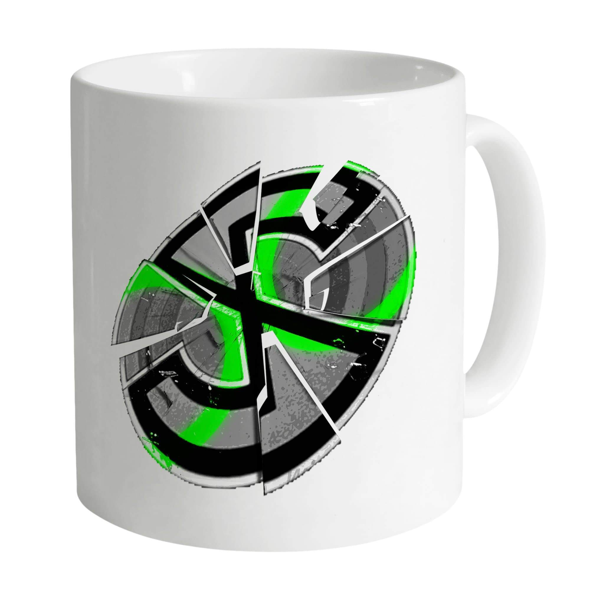 Captain Scarlet Shattered Emblem Mug - The Gerry Anderson Store