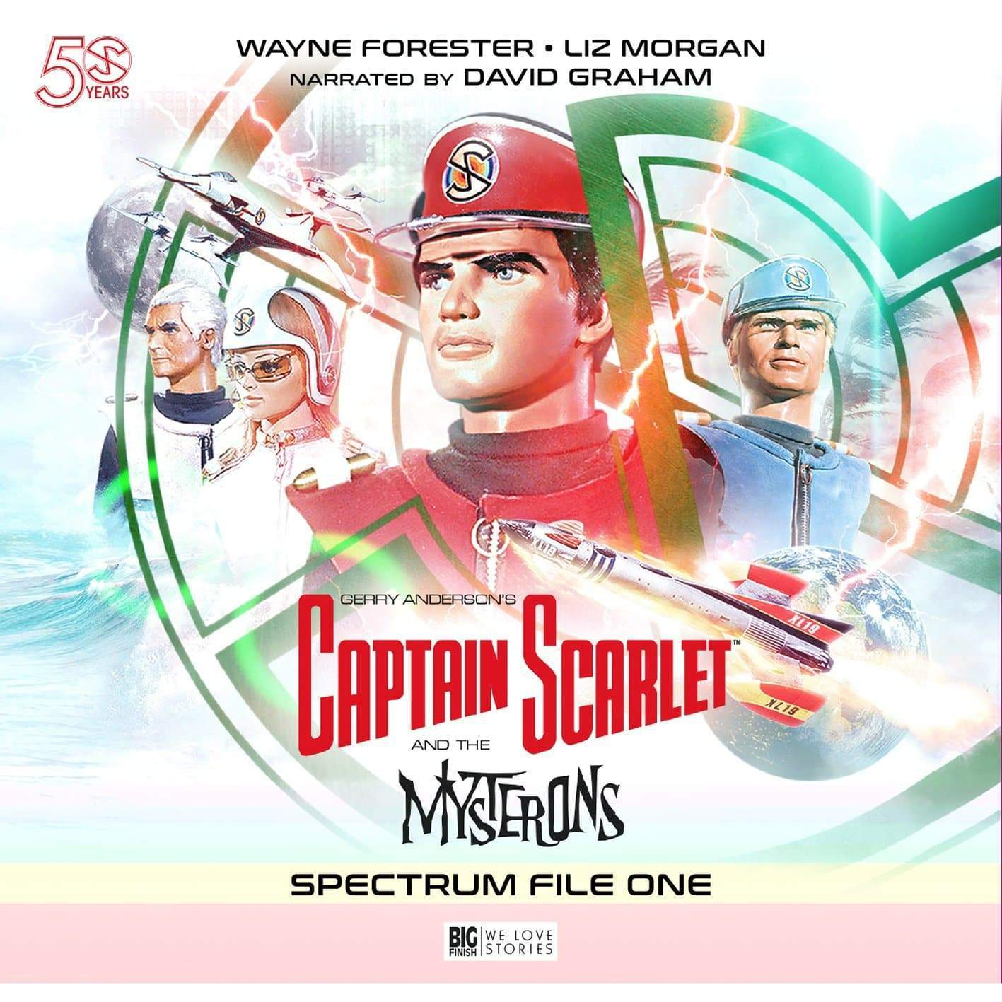 Captain Scarlet - Spectrum File 1 [DOWNLOAD] - The Gerry Anderson Store