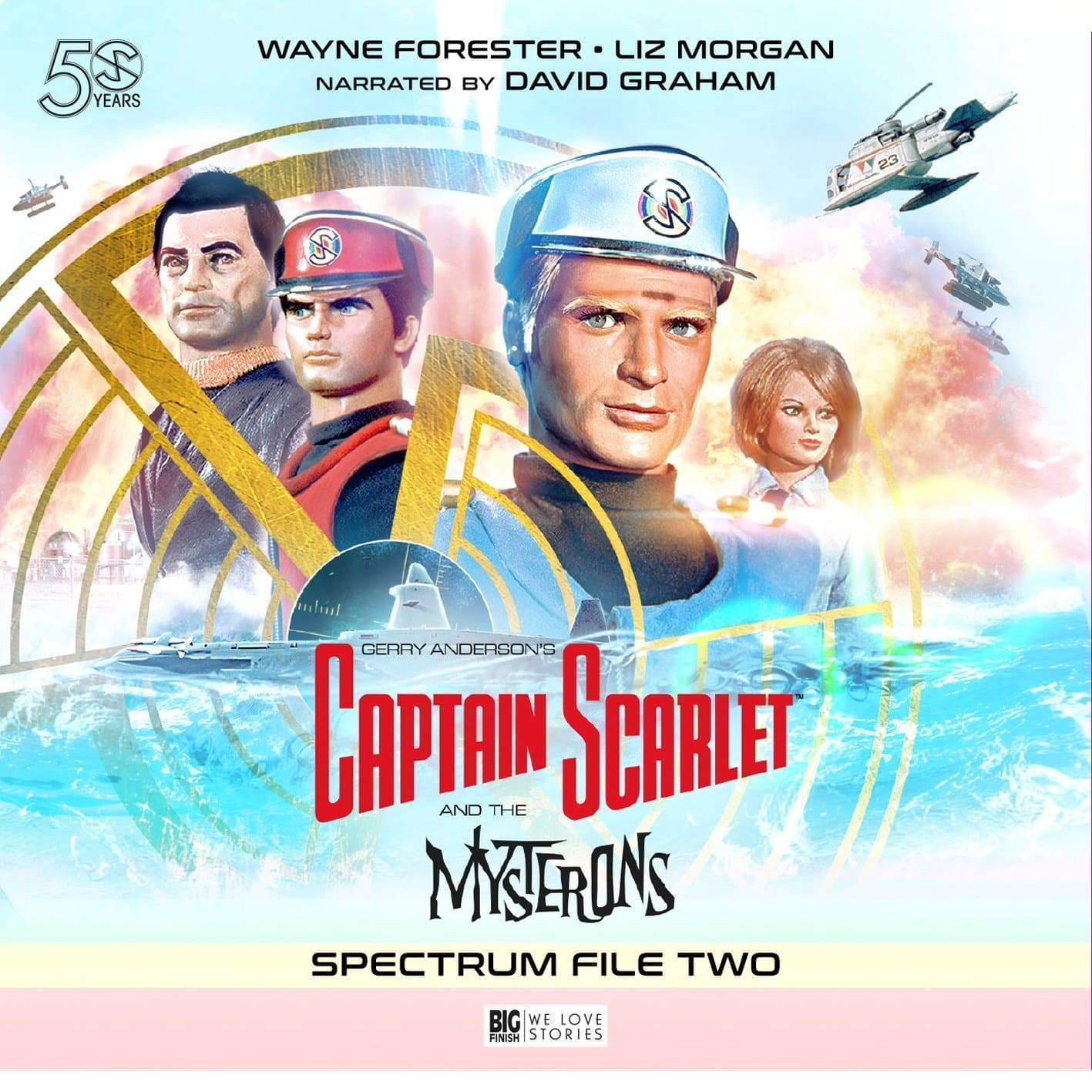 Captain Scarlet - Spectrum File 2 [DOWNLOAD] - The Gerry Anderson Store
