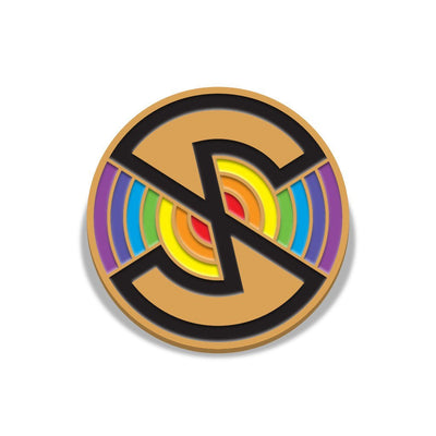 Captain Scarlet Spectrum Logo Enamel Pin Badge by Florey - The Gerry Anderson Store