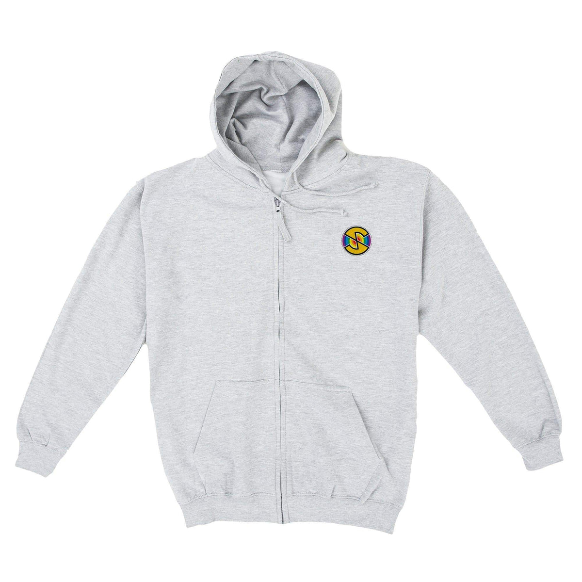 Captain Scarlet Spectrum Men's Zipped Hoodie with Embroidery [Official & Exclusive] - The Gerry Anderson Store