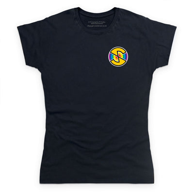 Captain Scarlet Spectrum Roundel Small Logo Women's T-Shirt [Official & Exclusive] - The Gerry Anderson Store