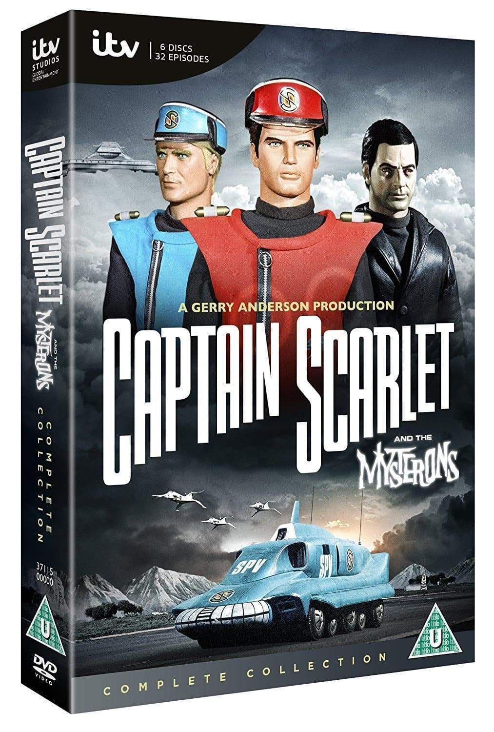 Captain Scarlet: The Complete Collection [DVD] (Region 2 ) - The Gerry Anderson Store