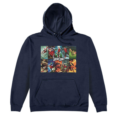 Captain Scarlet Titles Hoodie [Official & Exclusive] - The Gerry Anderson Store
