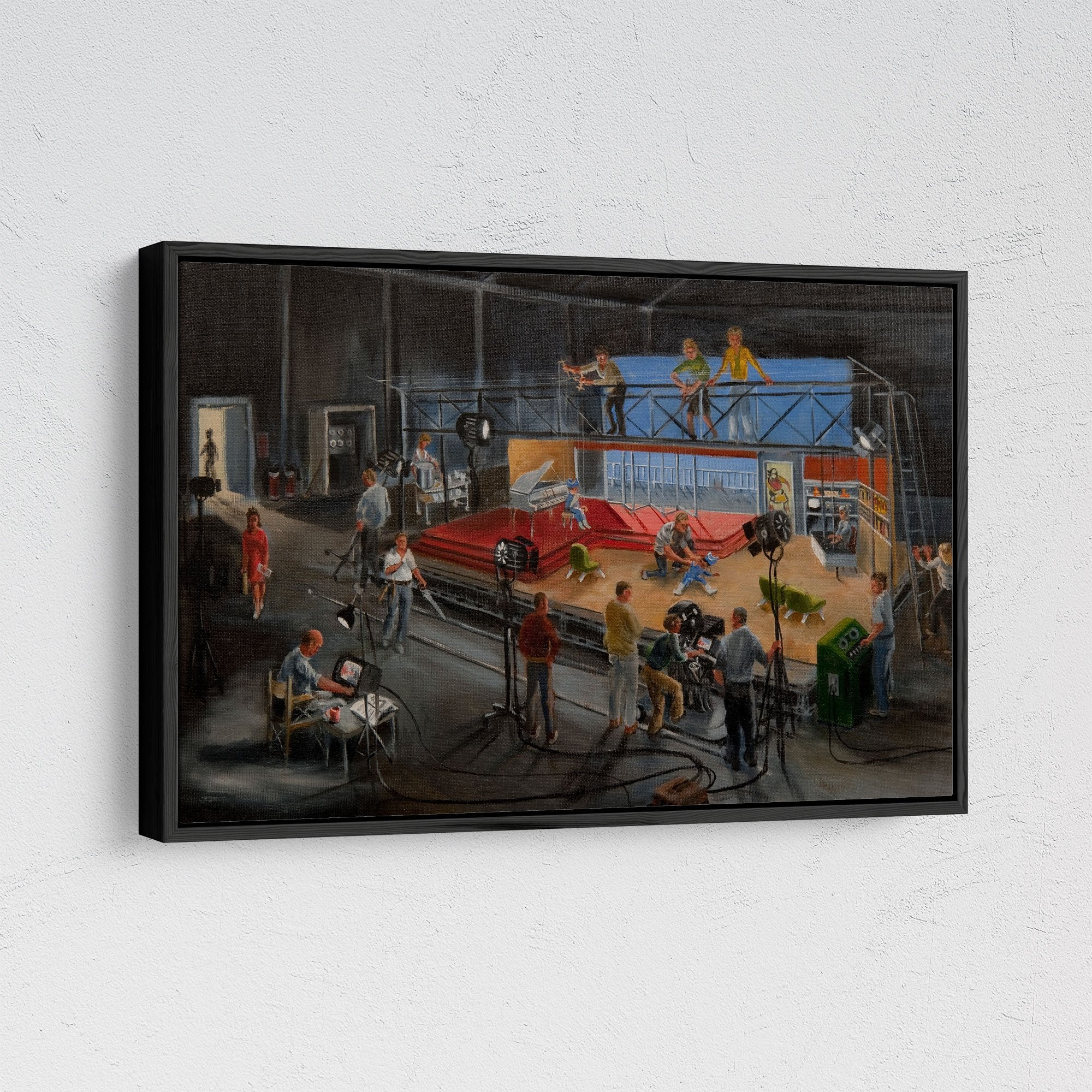 Century 21 Bob Bell Framed Painting Printed on Canvas [Exclusive] - The Gerry Anderson Store