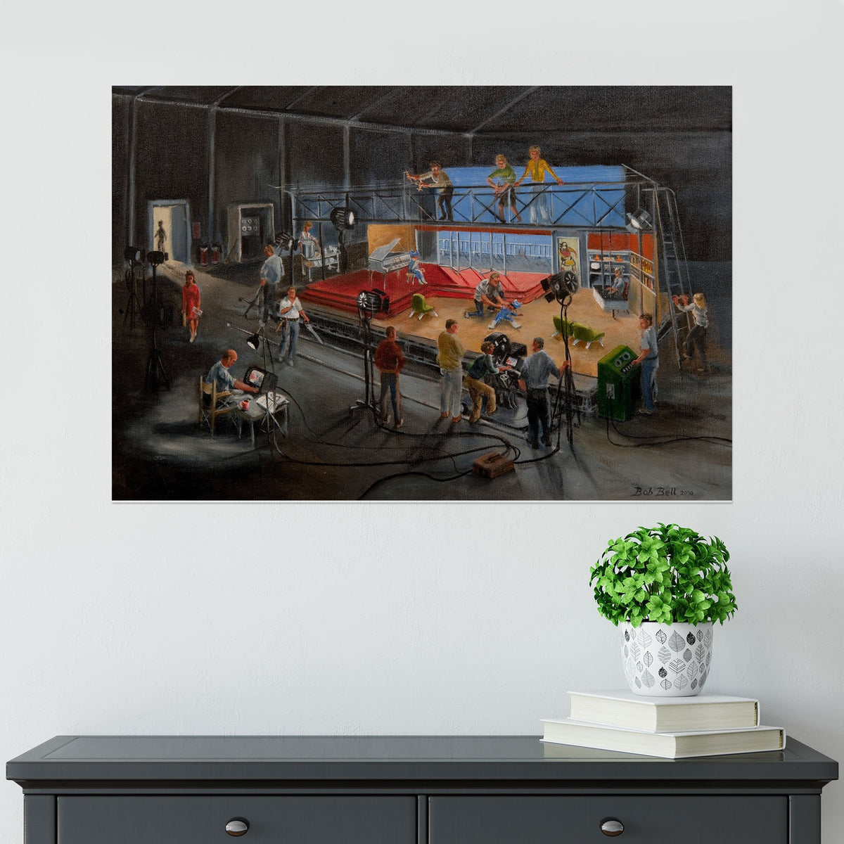 Century 21 Bob Bell Painting Print [Exclusive] - The Gerry Anderson Store