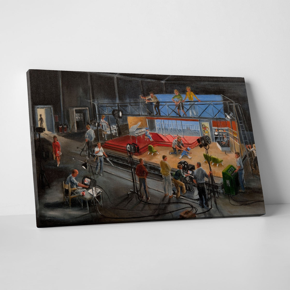 Century 21 Bob Bell Painting Printed on Canvas [Exclusive] - The Gerry Anderson Store