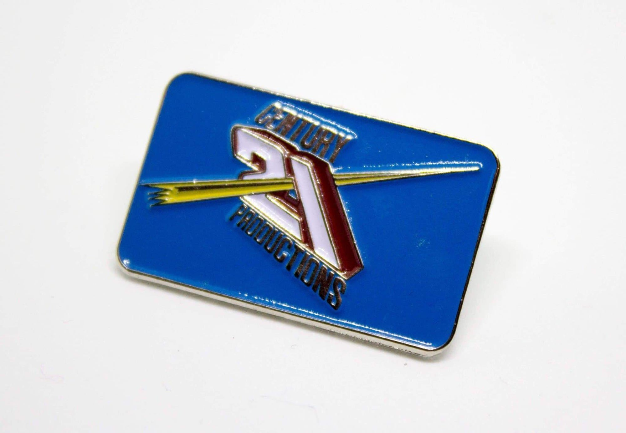 Century 21 Studios Enamel Badge {Exclusive} - The Gerry Anderson Store