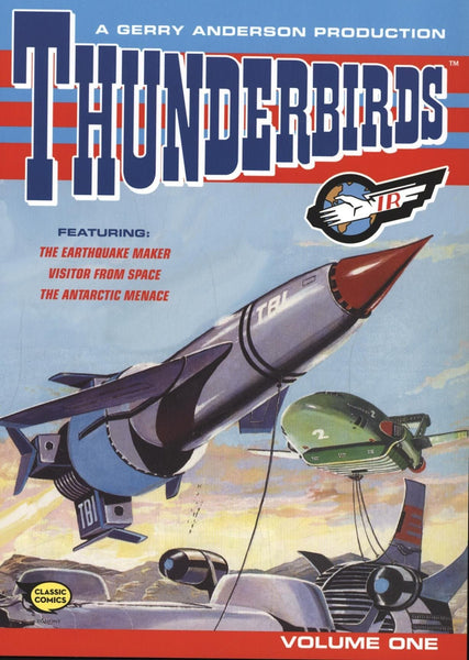 Thunderbirds Comic Collection Vol 1 - Gerry Anderson Official