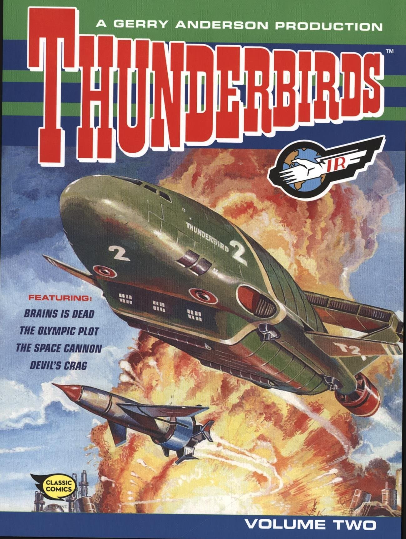 Thunderbirds Comic Collection Vol 2 - Gerry Anderson Official