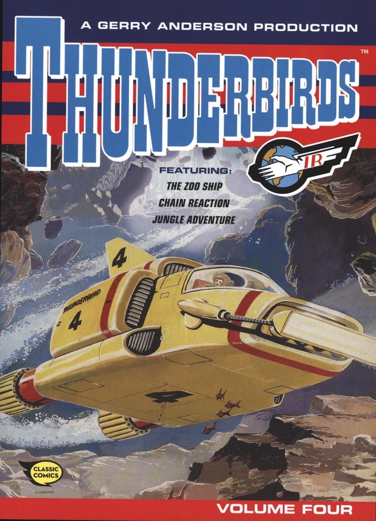 Thunderbirds Comic Collection Vol 4 - Gerry Anderson Official