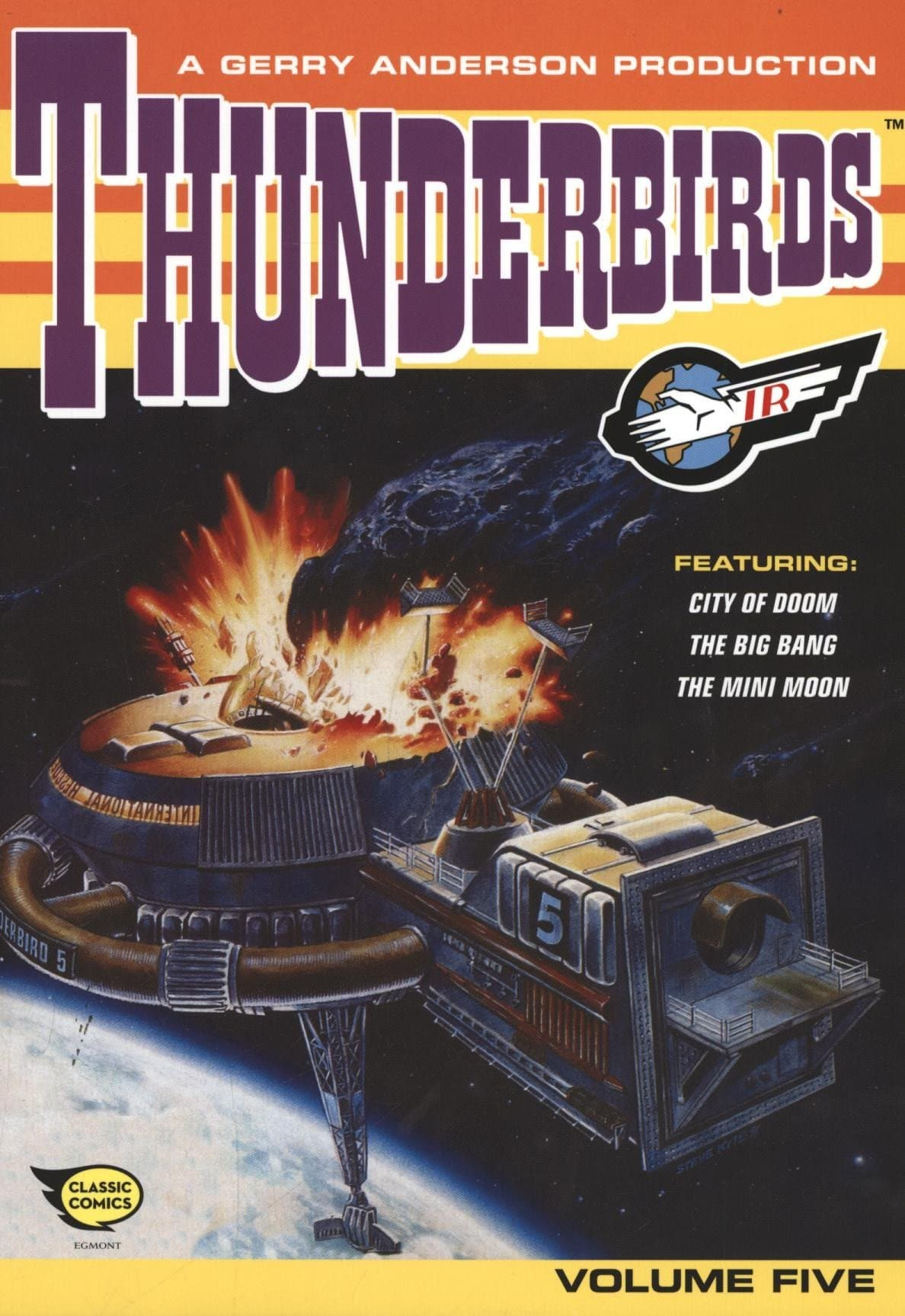 Thunderbirds Comic Collection Vol 5 - Gerry Anderson Official