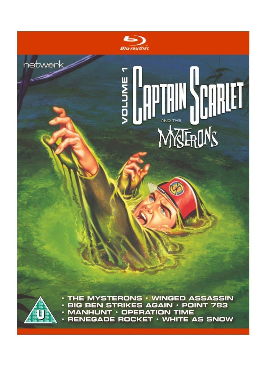 Captain Scarlet and the Mysterons 1 [BLU-RAY] - The Gerry Anderson Store