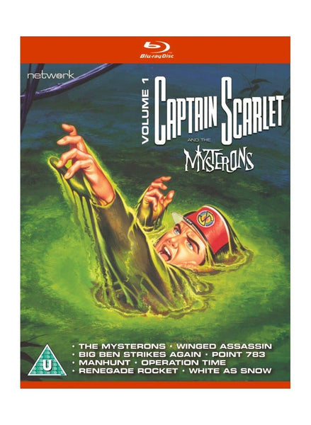 Captain Scarlet Blu-ray Collection - Captain Scarlet and the Mysterons in High Definition
