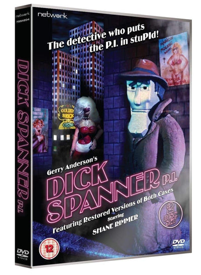 Dick Spanner, P.I. [DVD](Region 2) - The Gerry Anderson Store