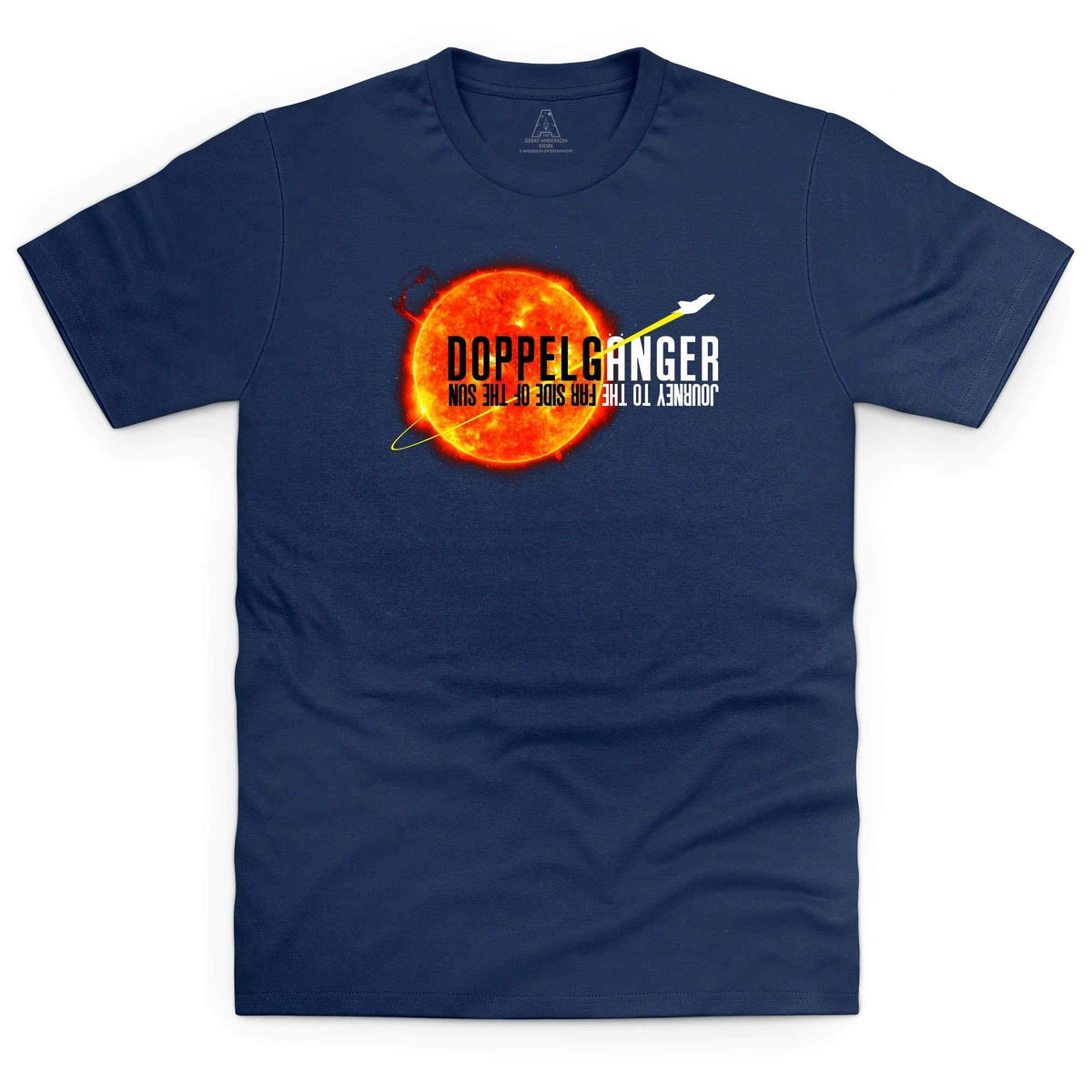 Doppelgänger Logo Men's T-shirt [Official & Exclusive] - The Gerry Anderson Store