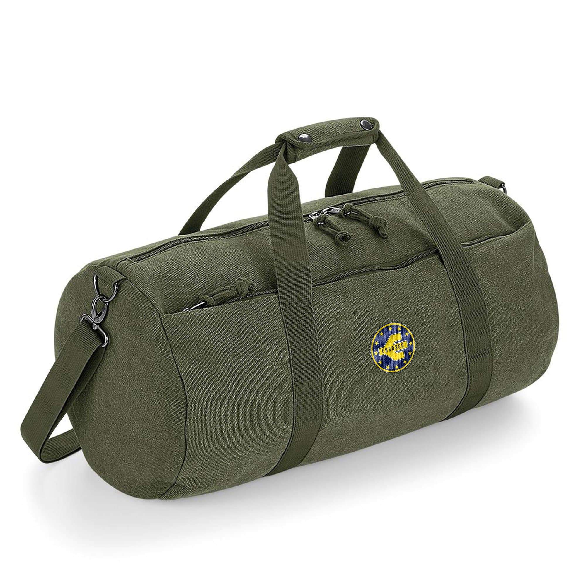 Eurosec Logo Barrel Bag - The Gerry Anderson Store
