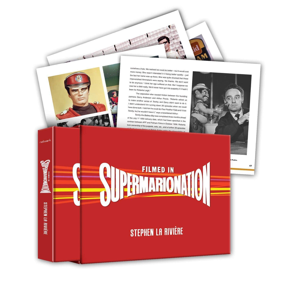 Filmed in Supermarionation Book [Hardcover with Slipcase] - The Gerry Anderson Store