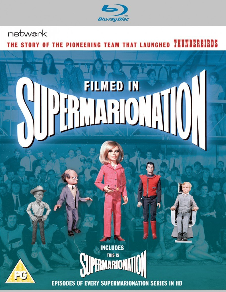 Filmed in Supermarionation / This is Supermarionation [Blu Ray](Region ABC & B) - The Gerry Anderson Store
