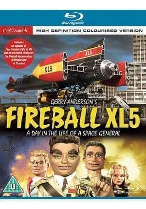 Fireball XL5: A Day in the Life of a Space General [Blu-Ray] (Region B) - The Gerry Anderson Store