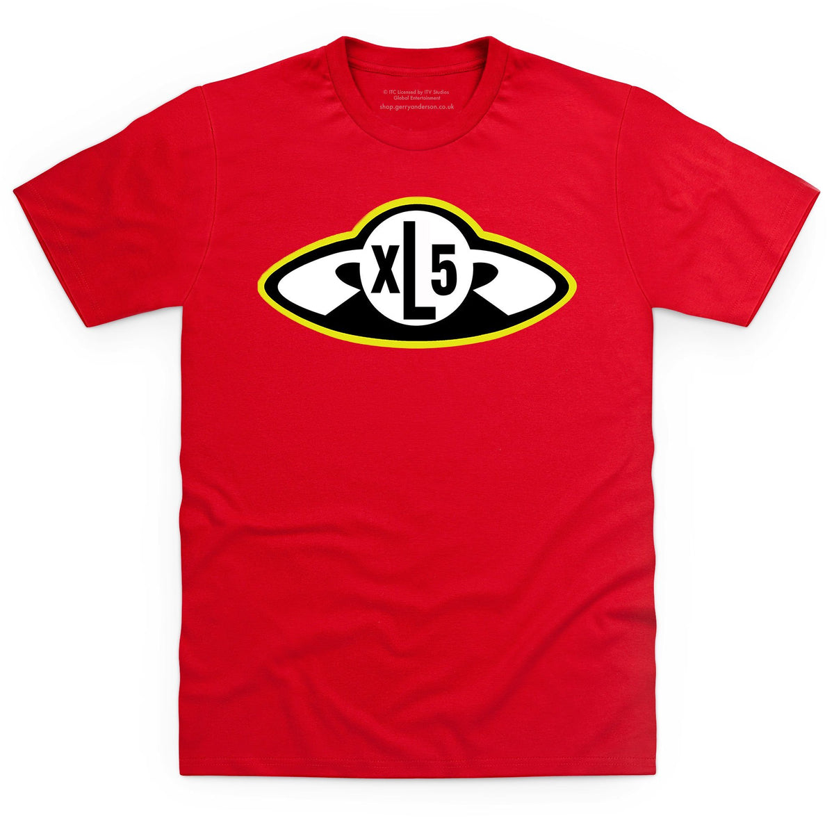 Fireball XL5 Badge Men's T-Shirt [Official & Exclusive] - The Gerry Anderson Store