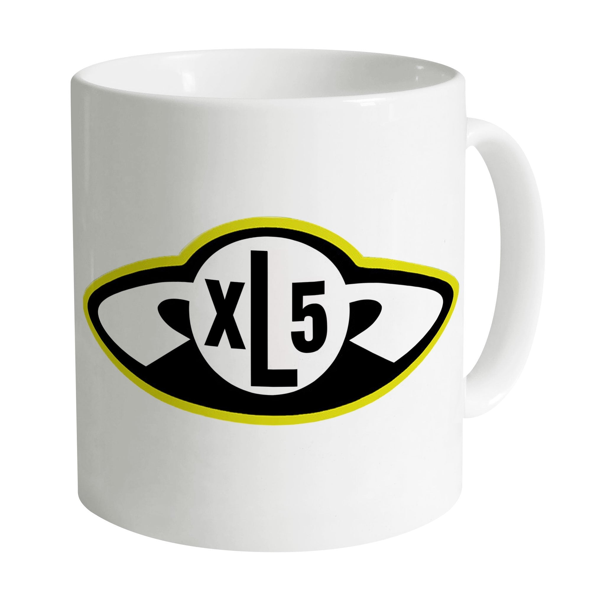 Fireball XL5 Badge Mug [Official & Exclusive] - The Gerry Anderson Store