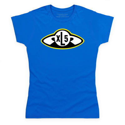 Fireball XL5 Badge Women's T-Shirt [Official & Exclusive] - The Gerry Anderson Store