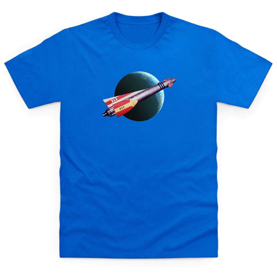 Fireball XL5 in Flight Kid's T-Shirt [Official & Exclusive] - The Gerry Anderson Store