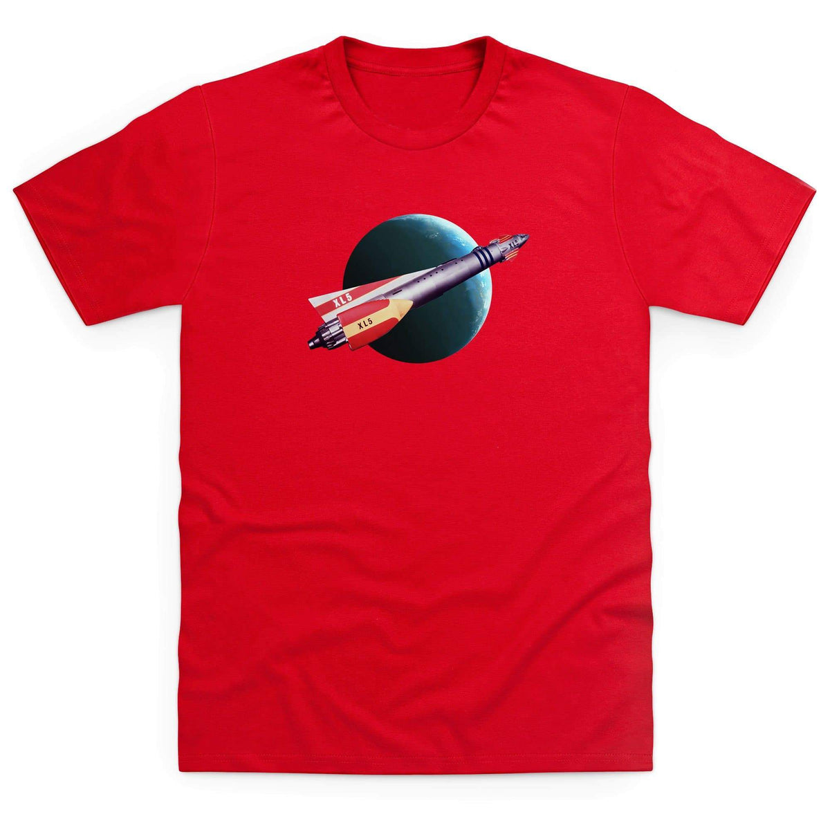 Fireball XL5 In Flight Men's T-Shirt [Official & Exclusive] - The Gerry Anderson Store