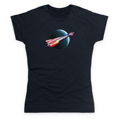 Fireball XL5 In Flight Women's T-Shirt [Official & Exclusive] - The Gerry Anderson Store