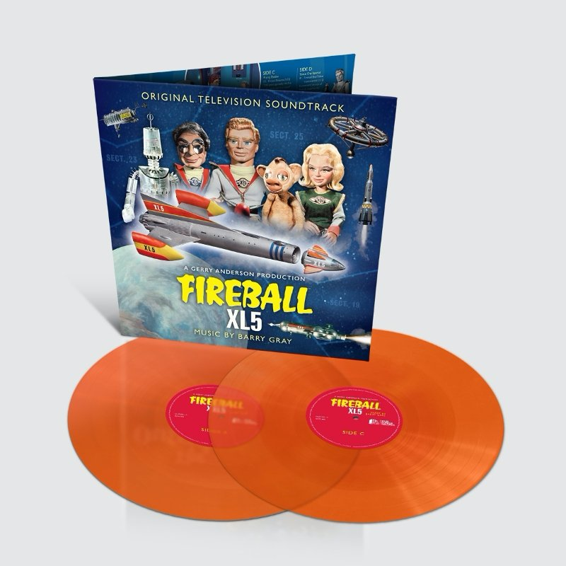 Fireball XL5: Original TV Soundtrack: Limited Edition Coloured Vinyl (LP) - The Gerry Anderson Store