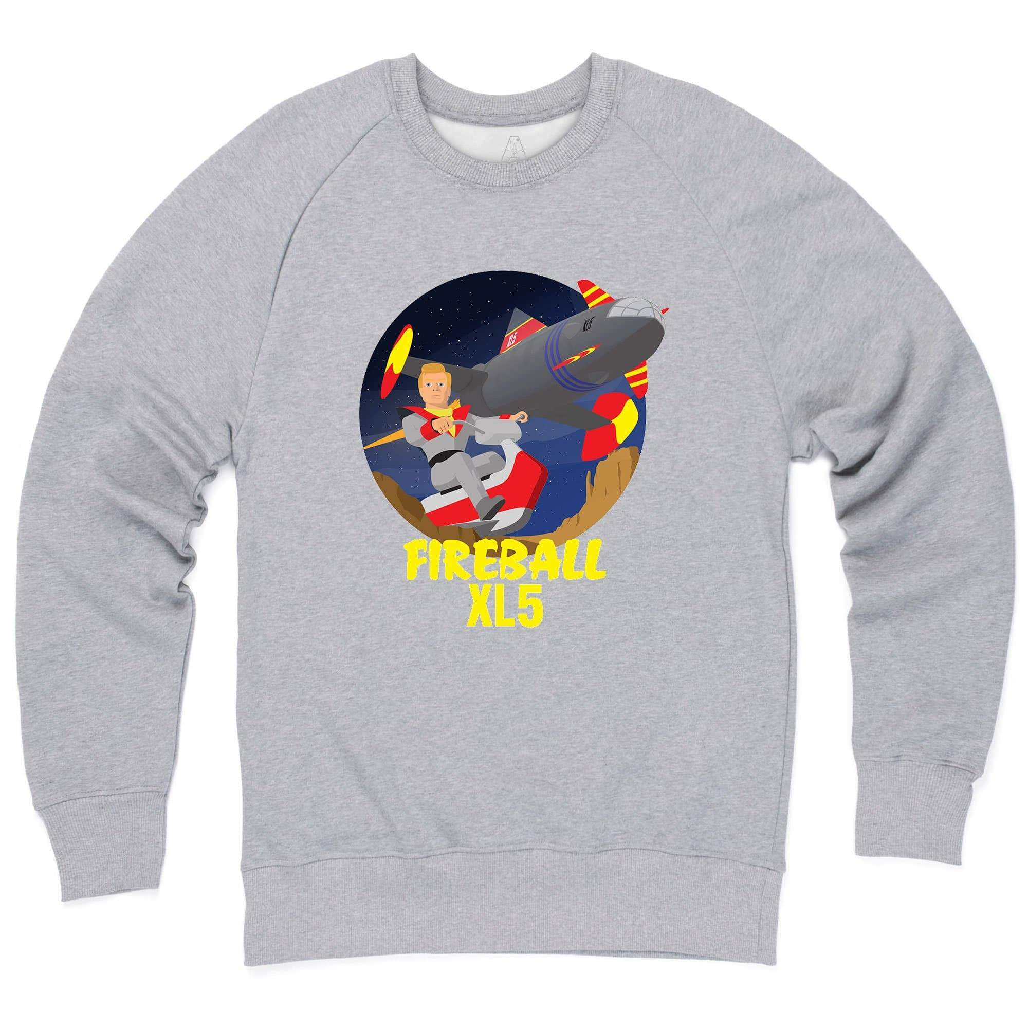 Fireball XL5 Sweatshirt [Official & Exclusive] - The Gerry Anderson Store