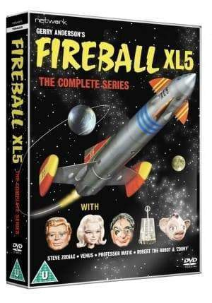 Fireball XL5: The Complete Series (DVD)(Region 2) - The Gerry Anderson Store
