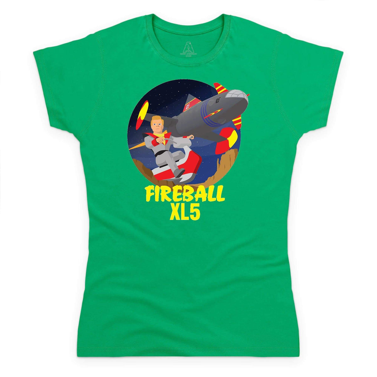Fireball XL5 Women's T-Shirt [Official & Exclusive] - The Gerry Anderson Store
