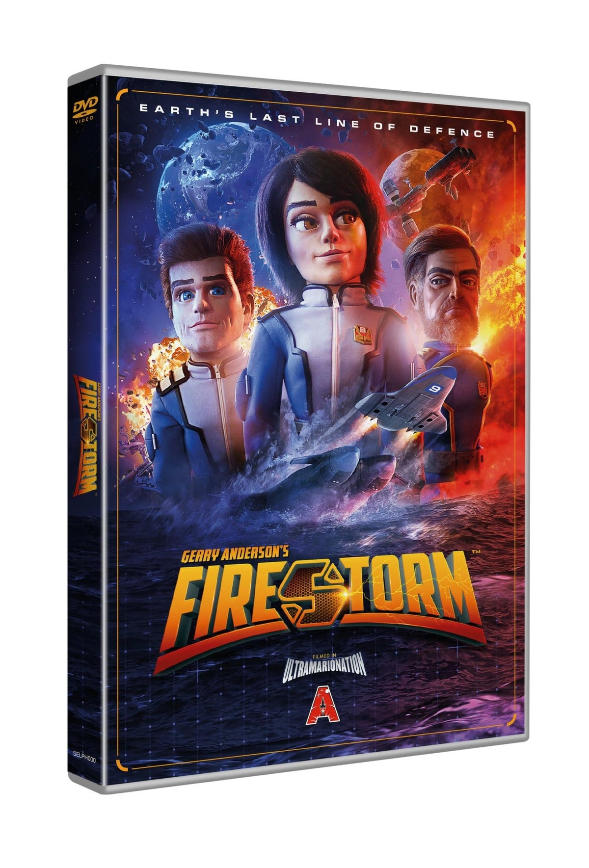 Firestorm (Blu-ray or DVD)(Blu-ray region free/DVD NTSC or PAL) - The Gerry Anderson Store