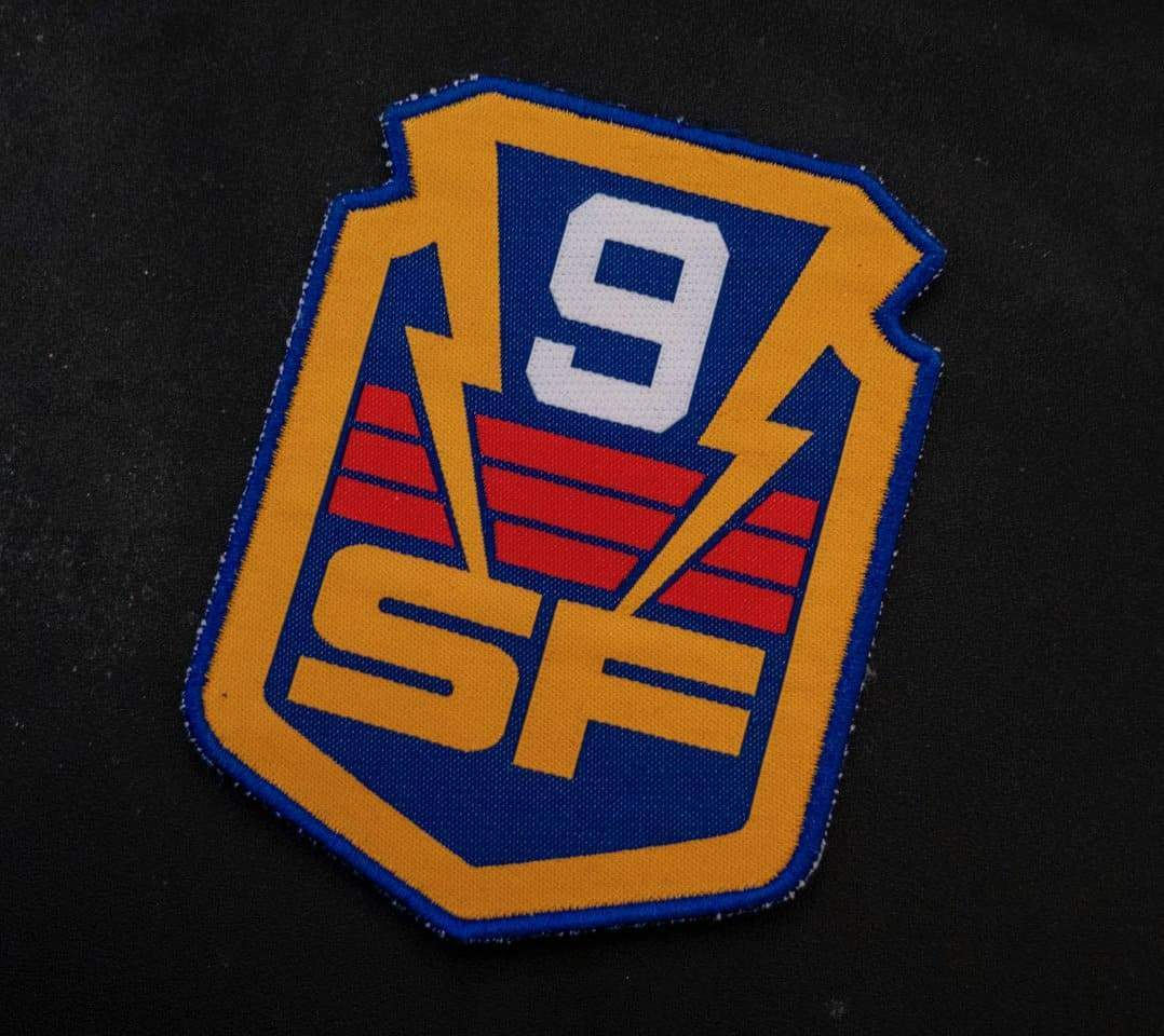 Firestorm Storm Force (SF9) Patch [Official & Exclusive] - The Gerry Anderson Store