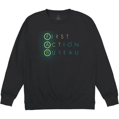 First Action Bureau Title Logo Sweatshirt [Official & Exclusive] - The Gerry Anderson Store
