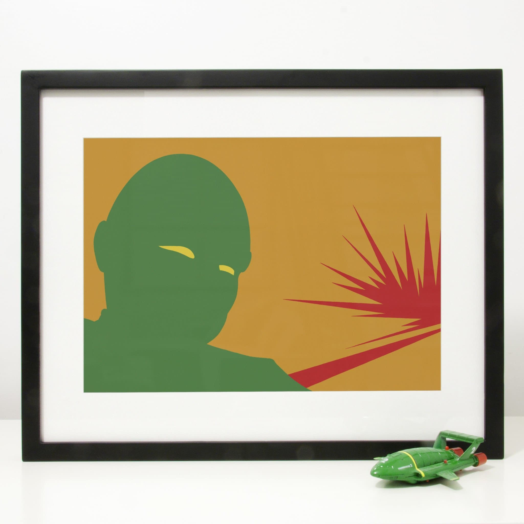 Those Staring Eyes - Print - The Gerry Anderson Store