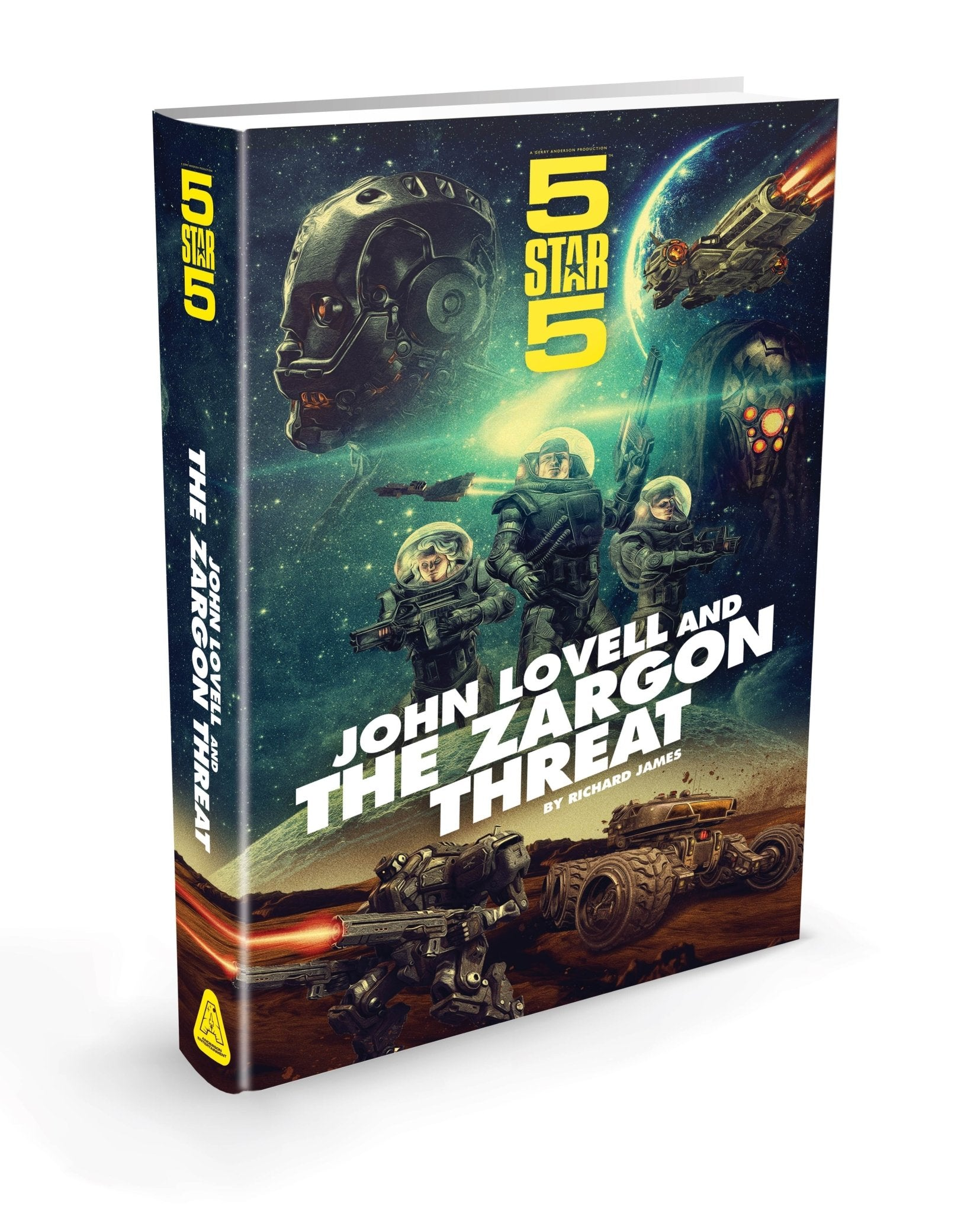Five Star Five Hardback Book [Official & Exclusive] - The Gerry Anderson Store