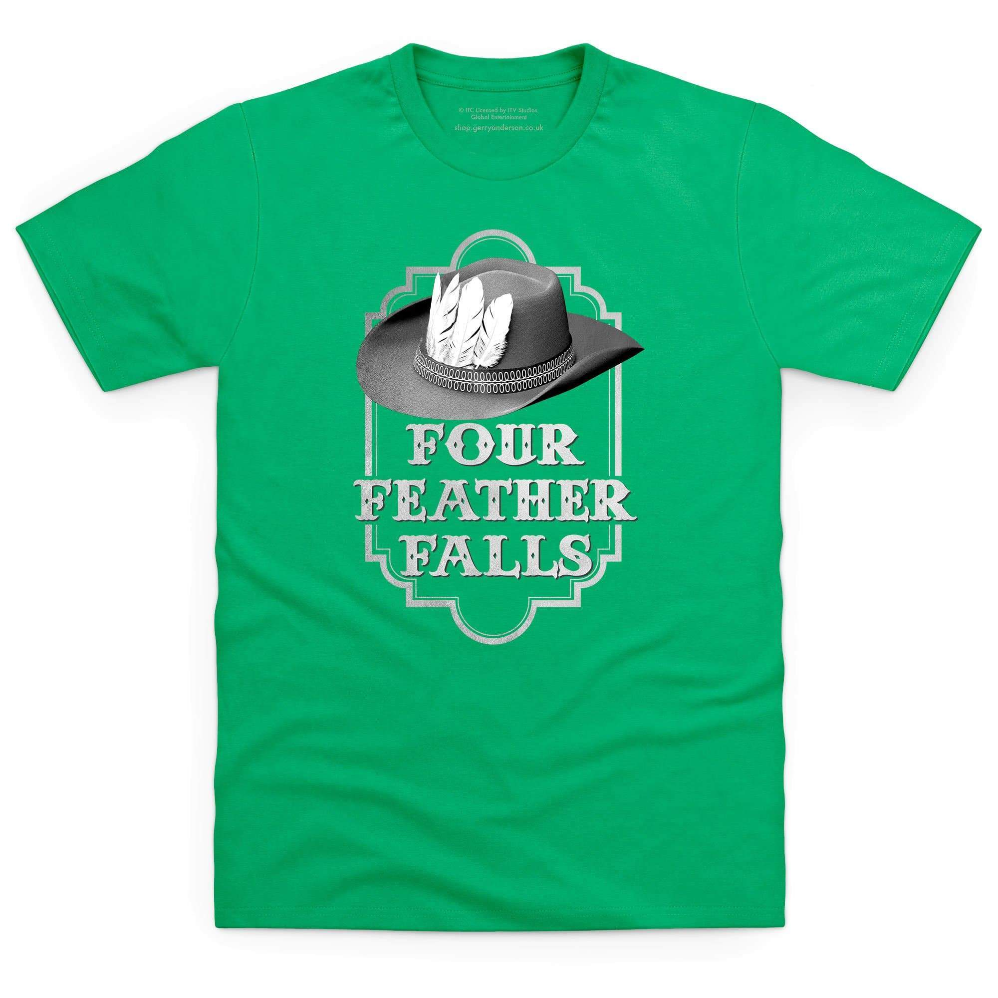 Four Feather Falls Men's T-shirt [Official & Exclusive] - The Gerry Anderson Store